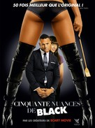 Fifty Shades of Black - French DVD movie cover (xs thumbnail)