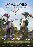 Dragones: destino de fuego - Spanish Movie Poster (xs thumbnail)
