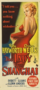 The Lady from Shanghai - Australian Theatrical movie poster (xs thumbnail)