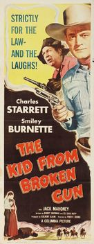 The Kid from Broken Gun - Movie Poster (xs thumbnail)