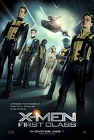 X-Men: First Class - British Movie Poster (xs thumbnail)