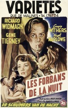 Night and the City - Belgian Movie Poster (xs thumbnail)