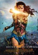 Wonder Woman - Latvian Movie Poster (xs thumbnail)