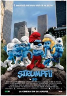 The Smurfs - Romanian Movie Poster (xs thumbnail)