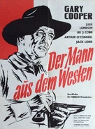 Man of the West - German Movie Poster (xs thumbnail)