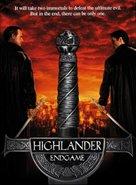 Highlander: Endgame - DVD cover (xs thumbnail)