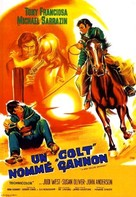 A Man Called Gannon - French Movie Poster (xs thumbnail)