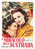 Miracle on 34th Street - Italian Movie Poster (xs thumbnail)