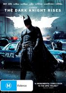 The Dark Knight Rises - Australian DVD movie cover (xs thumbnail)