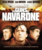 The Guns of Navarone - Blu-Ray cover (xs thumbnail)