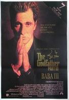 The Godfather: Part III - Turkish Movie Poster (xs thumbnail)