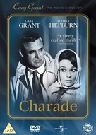 Charade - British DVD movie cover (xs thumbnail)