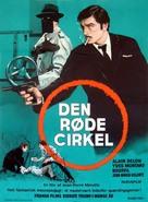 Le cercle rouge - Danish Movie Poster (xs thumbnail)