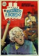 Murder Ahoy - Spanish Movie Poster (xs thumbnail)