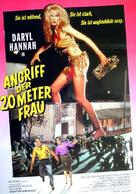 Attack of the 50 Ft. Woman - German Movie Poster (xs thumbnail)