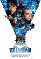 Valerian and the City of a Thousand Planets - Slovak Movie Poster (xs thumbnail)