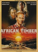 African Timber - French Movie Poster (xs thumbnail)