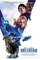 Valerian and the City of a Thousand Planets - Danish Movie Poster (xs thumbnail)