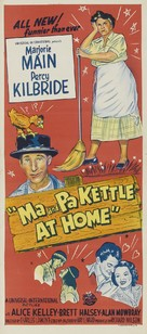 Ma and Pa Kettle at Home - Australian Movie Poster (xs thumbnail)