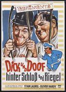 Pardon Us - German Movie Poster (xs thumbnail)