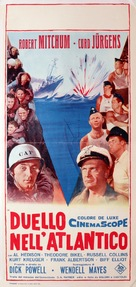 The Enemy Below - Italian Movie Poster (xs thumbnail)