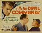 As the Devil Commands - Movie Poster (xs thumbnail)
