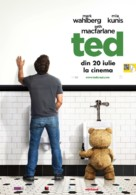Ted - Romanian Movie Poster (xs thumbnail)