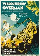 Jungle Cavalcade - Swedish Movie Poster (xs thumbnail)
