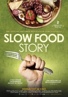 Slow Food Story - German Movie Poster (xs thumbnail)
