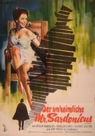 Mr. Sardonicus - German Movie Poster (xs thumbnail)