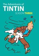 """Les aventures de Tintin"" - DVD cover (xs thumbnail)"
