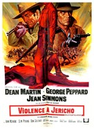 Rough Night in Jericho - French Movie Poster (xs thumbnail)