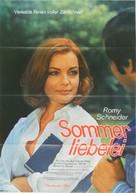 Un amour de pluie - German Movie Poster (xs thumbnail)