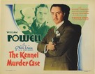 The Kennel Murder Case - Theatrical movie poster (xs thumbnail)