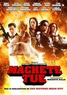 Machete Kills - Canadian DVD cover (xs thumbnail)