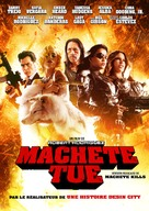 Machete Kills - Canadian DVD movie cover (xs thumbnail)