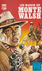Monte Walsh - German VHS movie cover (xs thumbnail)