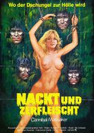 Cannibal Holocaust - German Movie Poster (xs thumbnail)