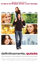 Definitely, Maybe - Spanish Movie Poster (xs thumbnail)