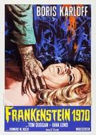 Frankenstein - 1970 - Italian Re-release movie poster (xs thumbnail)