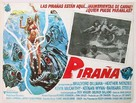 Piranha - Mexican Movie Poster (xs thumbnail)