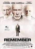 Remember - German Movie Poster (xs thumbnail)