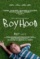Boyhood - Italian Movie Poster (xs thumbnail)
