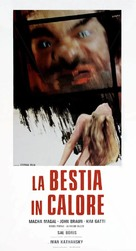 La bestia in calore - Italian Movie Poster (xs thumbnail)