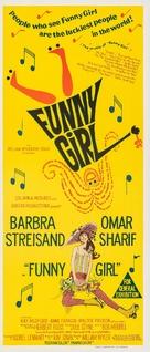 Funny Girl - Australian Movie Poster (xs thumbnail)