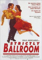 Strictly Ballroom - German Movie Poster (xs thumbnail)