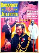 Romanoff and Juliet - Belgian Movie Poster (xs thumbnail)