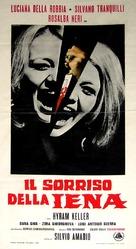 Il sorriso della iena - Italian Movie Poster (xs thumbnail)