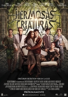 Beautiful Creatures - Spanish Movie Poster (xs thumbnail)