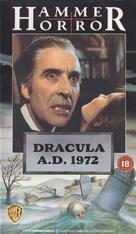 Dracula A.D. 1972 - British VHS cover (xs thumbnail)